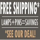 Special deal when you buy 50 or more graduation lamps and pins together