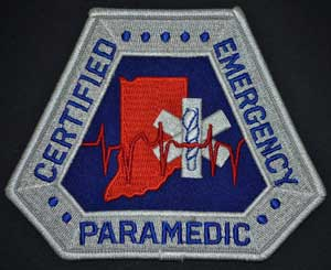 Indiana Paramedic Patch indiana paramedic patch, indiana paramedic, indiana emt-p, ia paramedic patch, Indiana ems patch
