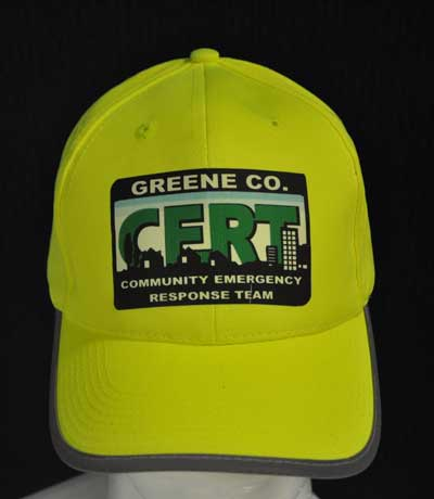 Custom CERT BallCap with Reflective stripes Custom CERT, CERT identification, CERT Team, CERT Leader, Community Emergency response team, Cert ball cap