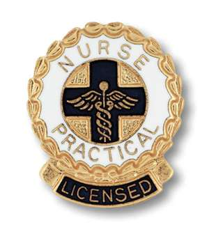 Licensed Practical Nurse Emblem pin