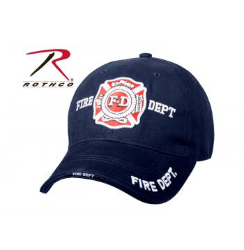 Fire Department Deluxe Ballcap