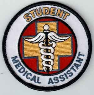 Student Medical Assistant patches