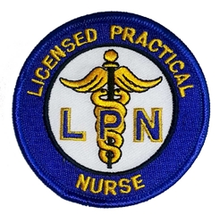 LPN embroidered patch