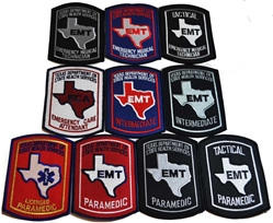 Patch Collector Set for Texas EMS