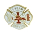 1 year Fire Service pin - SS-FIRE-1