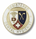 Dental Hygienist - Registered - Emblem Pin