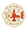 55 year fire service pin