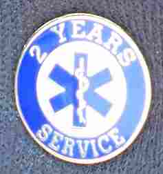 2 Year EMS Service Pin