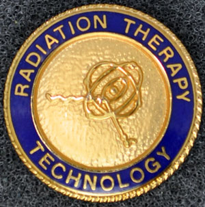 Radiation Therapy Graduation Pin Radiation Therapy, graduation pins, radiation tech, radiation technology, x-ray, xray tech
