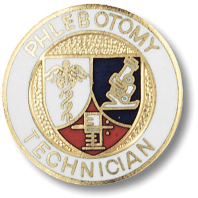 Phlebotomy Tech Pin