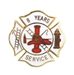 fire department 8 years of service pins