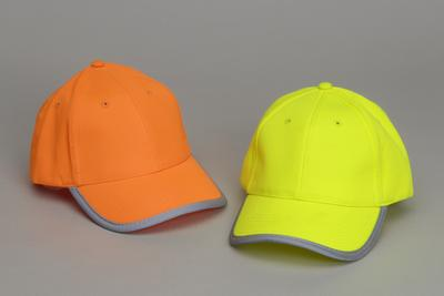 Hi-viz Reflective Safety Cap with Reflective Trim